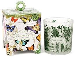 <b>Michel Design Works</b> Gift Boxed Soy Wax Candle, 6.5-Ounce, <b>Papillon</b>
