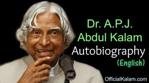 autobiography of dr apj abdul kalam in english