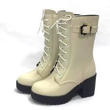 <b>AIYUQI</b> 2019 new high heeled fashion military <b>boots women</b> ...