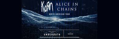 KORN | <b>ALICE IN CHAINS</b> | SPAC