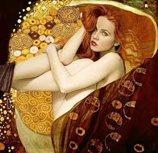 Tribute to Gustav KlimtPhoto: Ksenia AlexeevaModel: <b>Kristina</b> ...