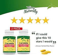 Terry Naturally <b>Curamin Extra Strength</b> (2 Pack) - 120 Vegan Tablets ...