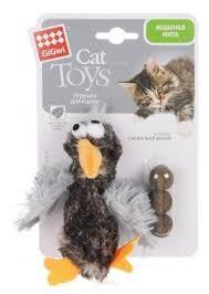 Набор <b>игрушек</b> для кошек <b>GiGwi Cat Toys</b> Птичка (... — купить по ...