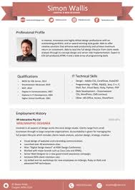 sample resumes   professional resume templates and cv templatesthe modern cut   promotional rate  rrp      magnifier        professional resume template