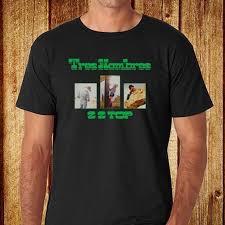 <b>ZZ Top Tres</b> Hombres Adult T Shirt Rock Music T-Shirts