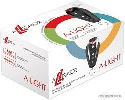 <b>Alligator A-Light автосигнализацию</b> купить в Минске