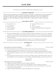 professional database administrator templates to showcase your resume templates database administrator