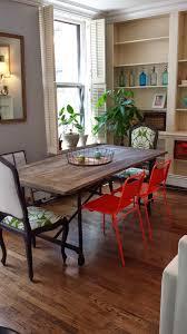 flatiron baluster extending dining table