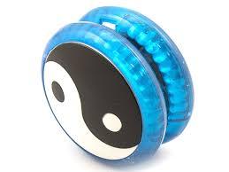 <b>Йо</b>-<b>Йо Эврика Волчок на</b> шнуре Инь Янь Blue 99057 купить ...