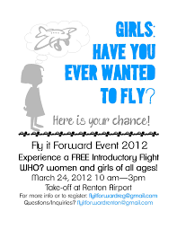 flight to success girls wings flying scholarship thursday 15 2012