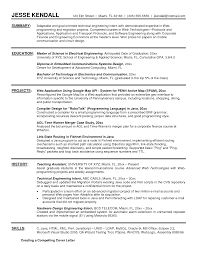 Sample Resume For Embedded Hardware Engineer Format Hardware Engineer