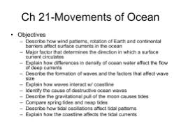 Ch    Movements of Ocean