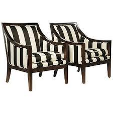 black and white stripe chair black and white striped furniture