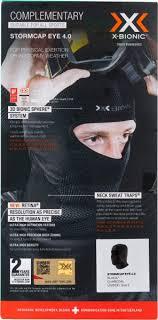 <b>Балаклава X</b>-<b>Bionic</b> Stormcap Eye 4.0 черный/графит цвет ...