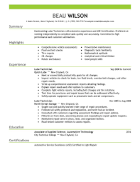 automotive technician resume getessay biz lube technician examples automotive samples throughout automotive technician automotive technician resume