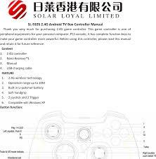 A34 <b>TORID GAMEPAD</b>-WIRELESS User Manual Winspeed