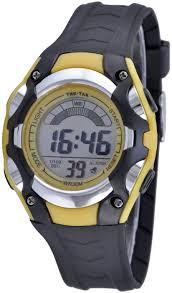 <b>Часы</b> Тик-Так Н428 желто-черные — купить в интернет-магазине ...