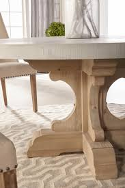 round dining table base:  bastillerounddiningtablebase smokegray detail