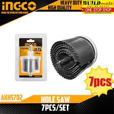 INGCO Hole Saw <b>7pcs</b>/<b>SET</b> AKHS702 | Shopee Philippines