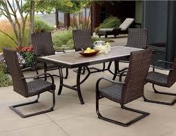 patio dining: dimensions  piece patio dining set