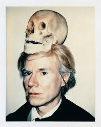 andy warhol with Skull ... - andy-warhol