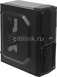 <b>Корпус mATX</b> ZALMAN ZM-T4, <b>Mini-Tower</b>, без БП, черный