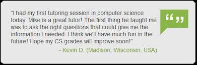 Want to Improve Your Grades Fast  Get Quality Computer Science     Eduboard com Customer testimonial on Computer science homework help