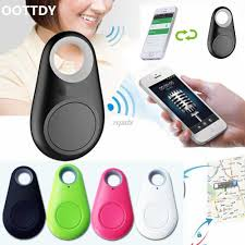 OOTDTY <b>Smart Bluetooth Tracer GPS</b> Locator Tag Alarm Wallet Key ...