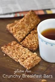 <b>Gluten Free</b> Breakfast: <b>Crunchy Granola Bars</b>