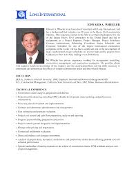 manager resume contract manager resume
