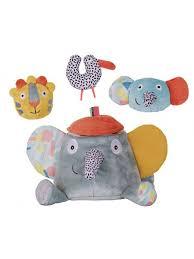 """Ebulobo Развивающая <b>игрушка</b> """"<b>Слонёнок</b> Зигги и его друзья ..."""