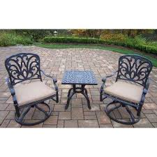 collection green outdoor lighting pictures patiofurn home. cast aluminum 3piece square patio bistro set with spunpoly beige cushions collection green outdoor lighting pictures patiofurn home
