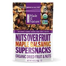 Made In Nature <b>Organic</b> Maple Balsamic <b>Nuts Over Fruit</b>, 4oz (6 ...