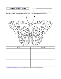 butterfly writing activities at com