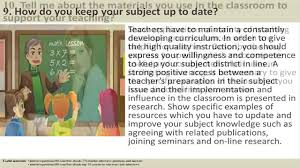 teacher interview questions and answers 170 teacher interview questions and answers