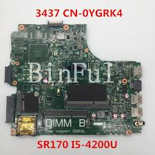 2019 High Quality For 3437 5437 Laptop Motherboard <b>CN 0YGRK4</b> ...
