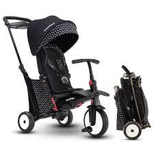 Smartrike Str5 <b>Folding Toddler Tricycle 7</b>-in-1 <b>Multi</b>-stage <b>Trike</b> ...