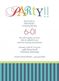 th birthday party invitation templates com 60th birthday party invitation templates