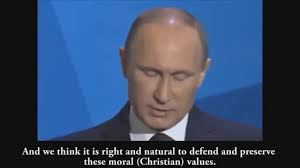 putin delivers speech on moral crisis of western states putin delivers speech on moral crisis of western states