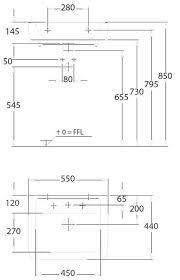 *<b>Раковина KERAMAG Renova Nr.1</b> Plan (550х440х120) подвесная ...