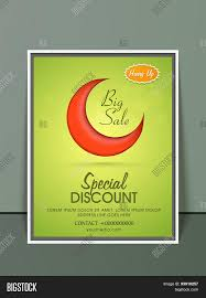 special discount offer flyer banner or template red crescent special discount offer flyer banner or template red crescent moon on shiny green background