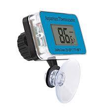 RENNICOCO <b>Waterproof Digital LCD</b> Aquarium <b>Thermometer</b> ...