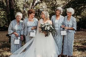 This Bride Had Four Grandmas Be Her <b>Flower Girls</b> - Simplemost