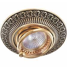 Встраиваемый <b>светильник Novotech</b> Vintage <b>370017</b>
