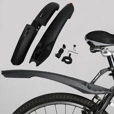 Rear Fender Mud Guard Set <b>Cycling MTB Mountain Bike Bicycle</b> ...