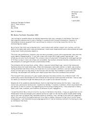 formal complaint letter example cover letter sample  formal
