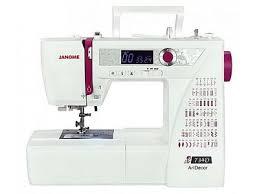<b>Швейная машина JANOME</b> ArtDecor 734D | Купить в Швеймаркет