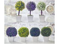artificial topiary tree ball flowers buxus boxwood plants in pot garden home artificial topiary tree ball plants pot garden