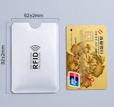 <b>Anti Rfid Wallet</b> Blocking Reader Lock <b>Bank</b> Card Holder Id <b>Bank</b> ...