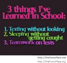 Funny school quotes and sayings – Funny Pictures, Awesome Pictures ... via Relatably.com